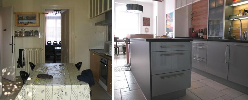 cuisine avant après rénovation