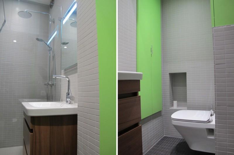 Salle de bain optimisée