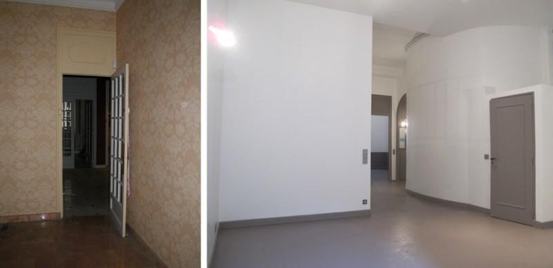Avant-après l'aménagement d'un appartement bourgeois