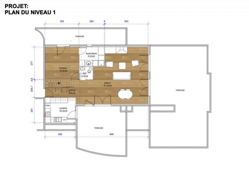 Plan du projet de réaménagement
