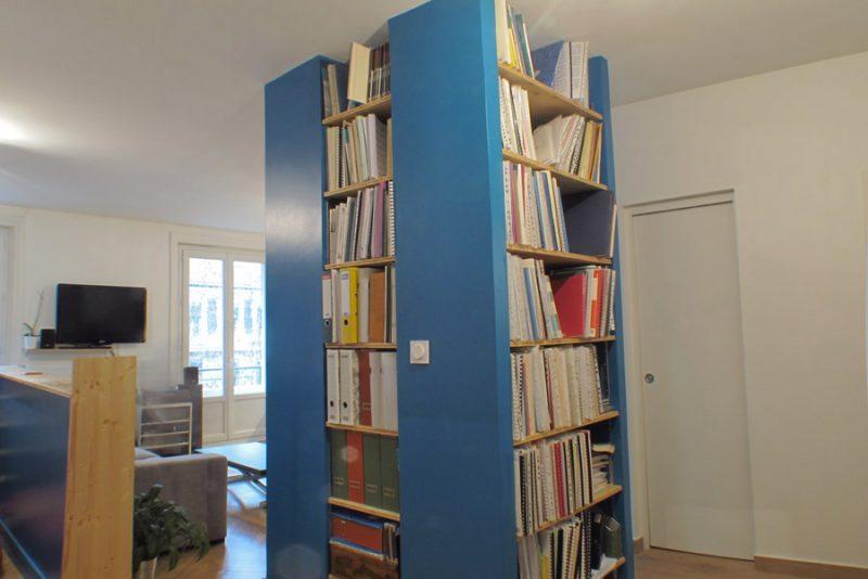 pilier bibliothèque