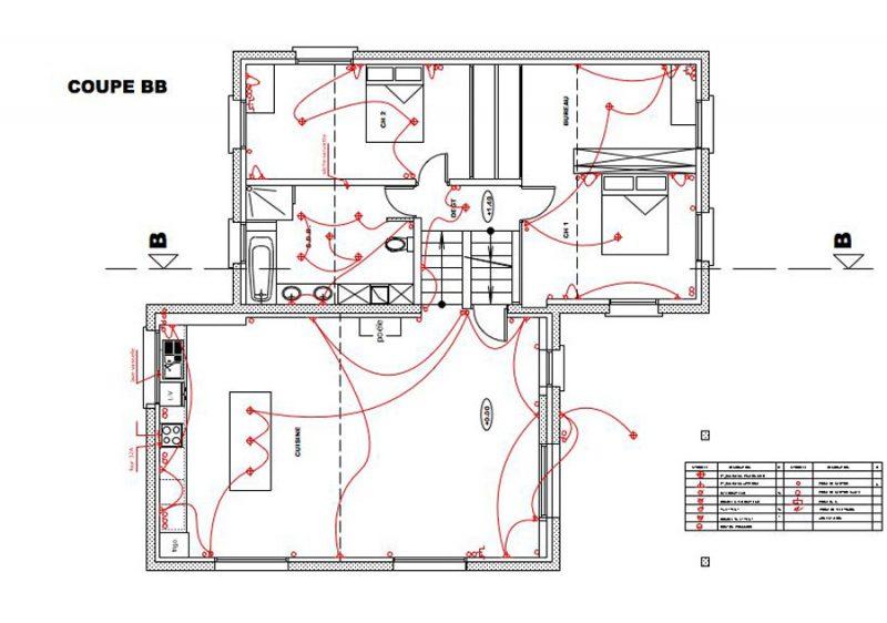 Plan électrique d'une maison