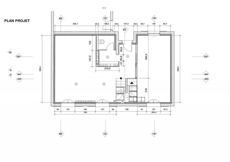 Plan du projet d'aménagement par Adelila, architecture d'intérieur