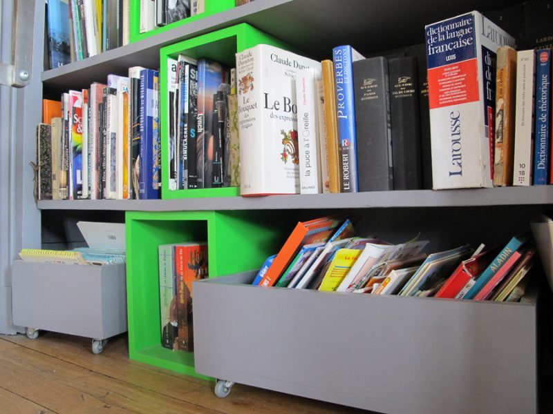 bibliothèque originale