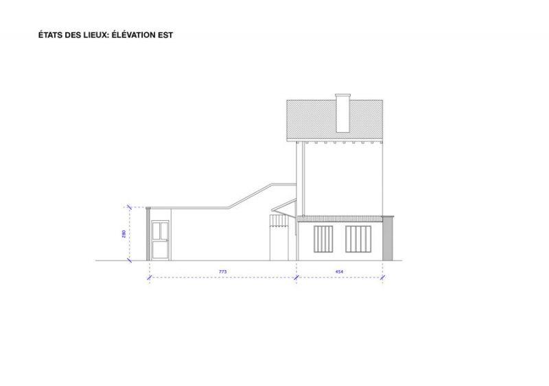 Projet d'extension de maison, plan